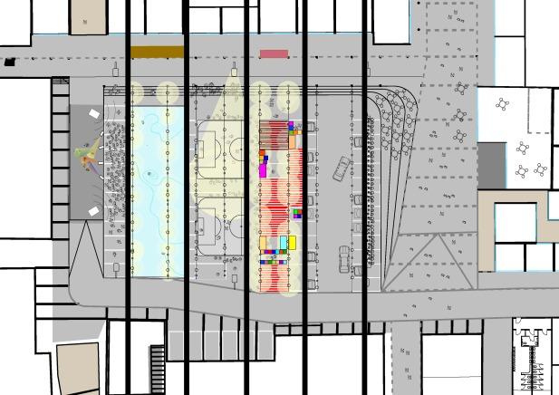 Minimale topografische und infrastrukturelle Eingriffe ermöglichen eine Vielzahl an Bespielungen