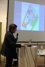 Vorstellung des Projektes Kabelwerk, durch DI Volkmar Pamer, Oberstadtbaurat, MA 21B. Foto: Joanna Pianka