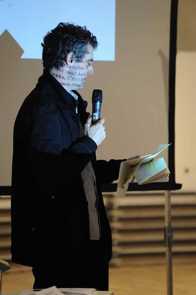 Moderation: Architekt DI Bernd Vlay, Architekt und Urbanist, Generalsekretär Europan Österreich. Foto: Joanna Pianka
